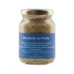 moutarde de pesto